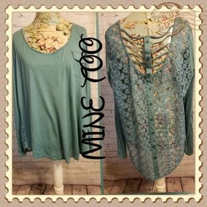 Mine Too Lacy Top